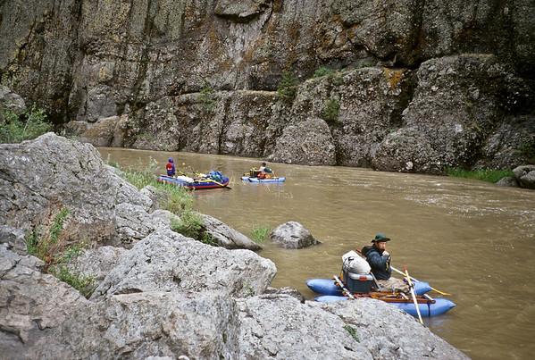 Float trip, Dearborn River Montana