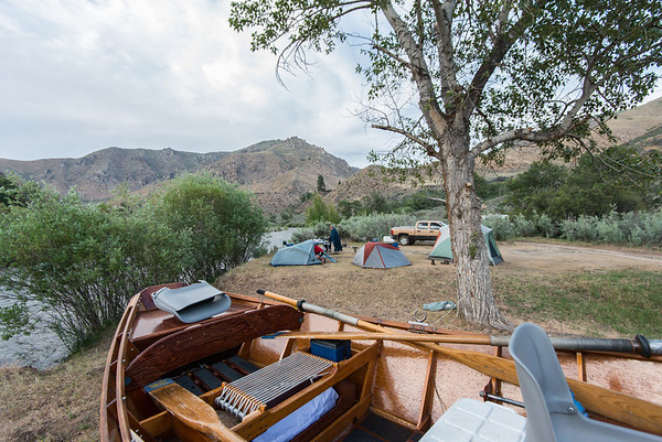 Campsite on the South Fork