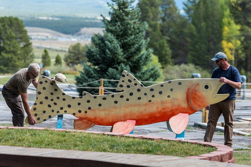 Leadville Colorado fish hatchery