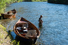 Nothing better than wooden boats on the river....