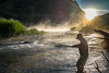 morning Tenkara fishing on the Madison River