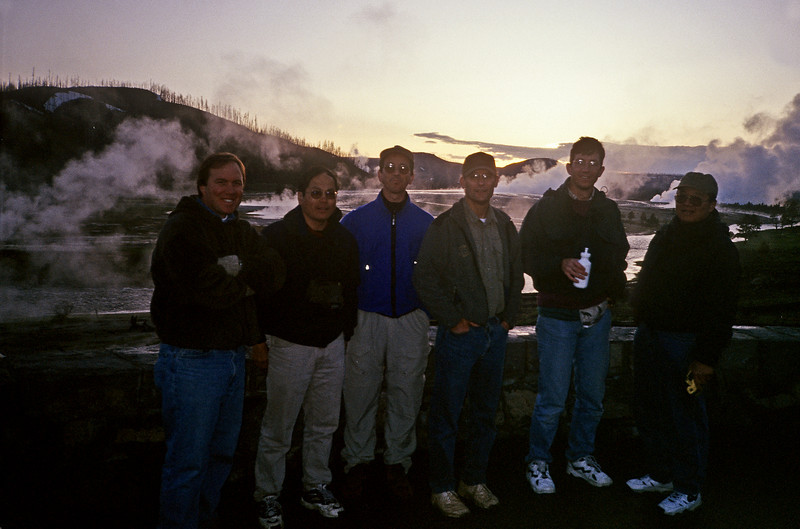 Opening day, Firehole River in Yellowstone National Park