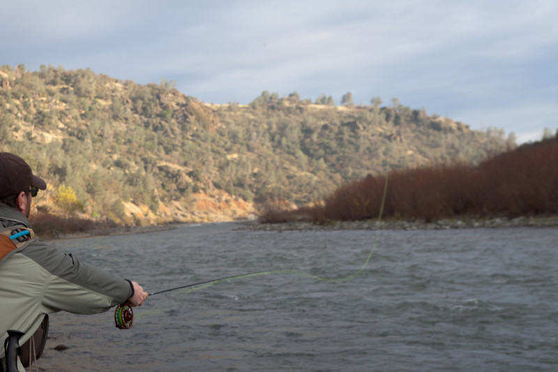 Casting Away on the Lower Yuba River, CA