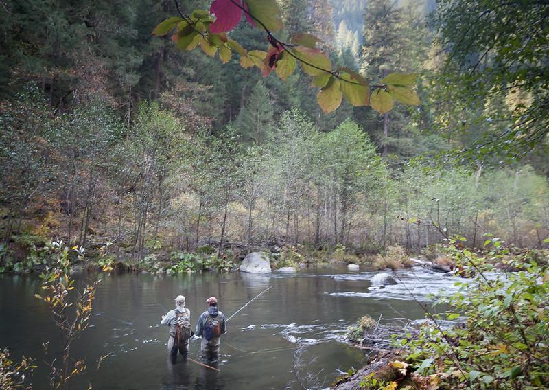 An Autumn Day's Work, McCloud RIver, CA