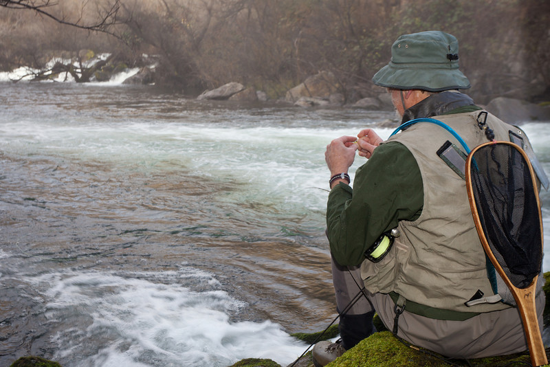 Changing Flies, Lower Stanislaus River CA