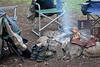 Morning Campfire for Fly Fishing Gear