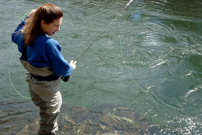 Flyfishing the Calaveras River