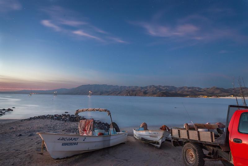 Morning Launch, Bahia de los Muertos, Baja MX