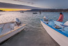 Panga Captain Preparing to Launch, Baja MX