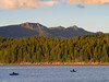 Fly Fishing Lake Almanor Before Sunset
