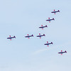 PC-7 Team arrow formation