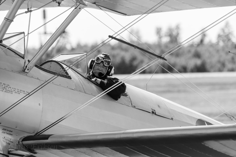 Parking the Stearman