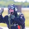 Happy pilot after show