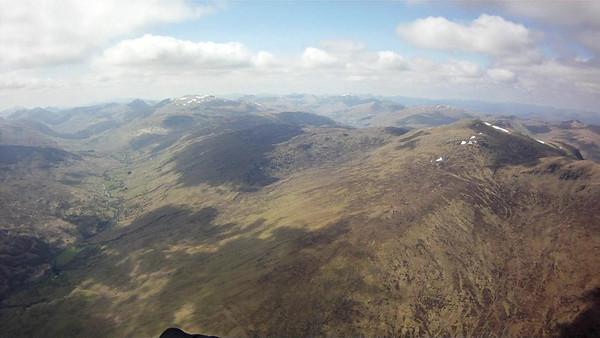 Looking west up Glen Lochay.