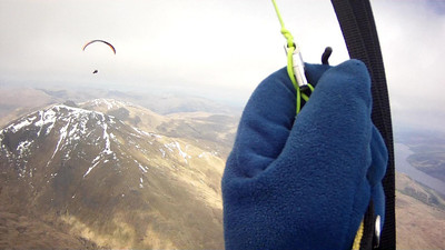 Heading for first TP; Ben Lawers.