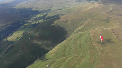 Great Whernside west face