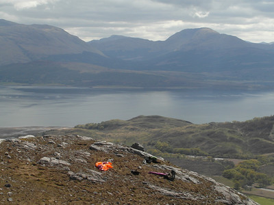Take off looking out over Loch Linnhe