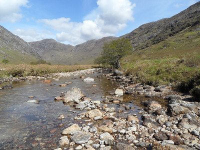 Valley under Garbh Beinn at start of walk up. Incredibly beautiful.