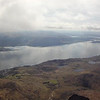 Reaching a modest cloudbase of not much over 4300' at this stage. Loch Linnhe below.