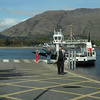 Short Corran ferry crossing over loch Linnhe