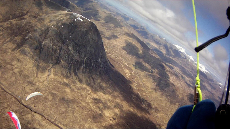 Buchaille Etive Mor below