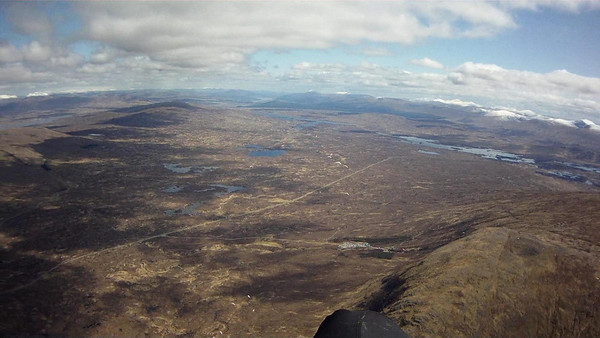 The expanse that is Rannoch Moor ....