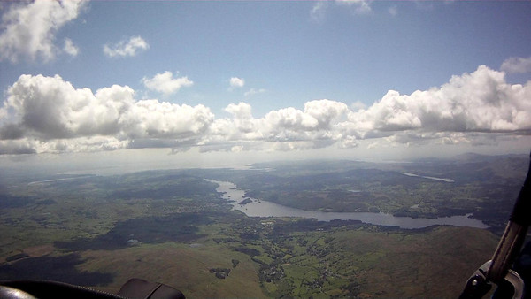 Windermere, First sign of SBF in distance.