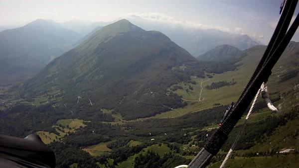 Looking back towards Krasji ridge