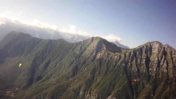 Crossing from Stoll ridge to Krasji ridge