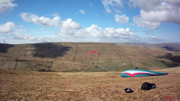 Sara take off; Pete ready and waiting