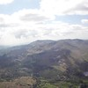 Looking back to the Coniston fells. Sea breeze just visible in distance.