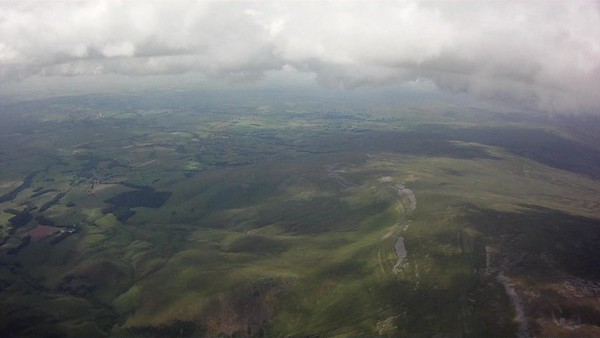 Sea breeze front evident to the north. Melmerby bowl below.
