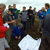 Briefing on Stanedge. Always a long shot due to quickly increasing wind. Only the fast and the brave got off before task canned.