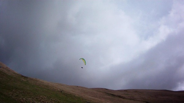 Mike on Zeno after take off
