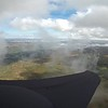 Climbing out from Semer with Ben and Dave Smart in there someplace.  Interesting low-level radiation fog buring off