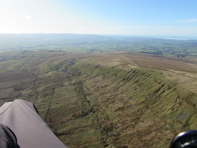 Looking back south to take off - lots of lift to 1200' ato