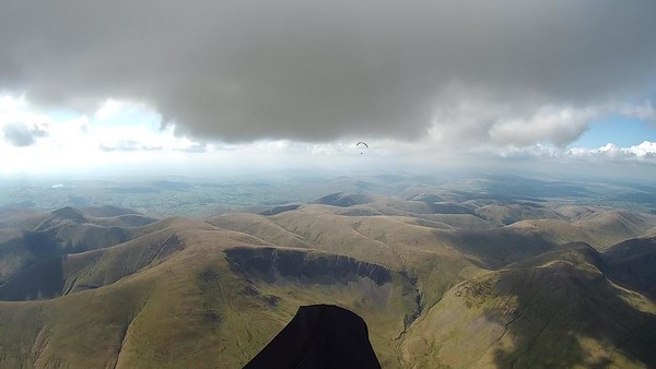 At base with Jake and heading for the big black cloud - had to work. Didn't!