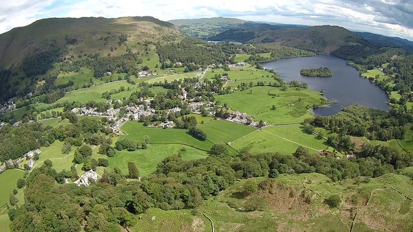 Grasmere - very nearly a landing by Rydal Water