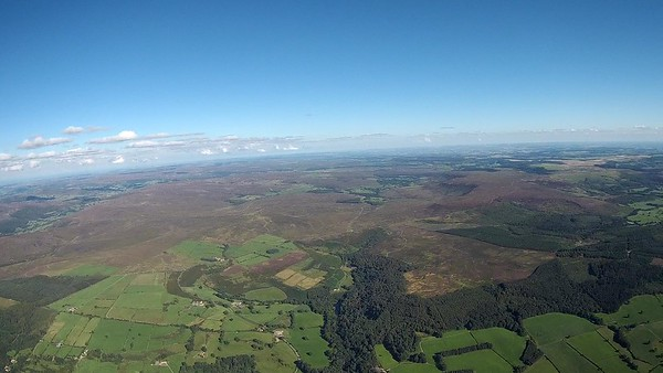 Two good, smooth climbs - one over Northallerton and another approaching the edge of the moors.