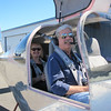 Kelly boy and Penny preparing for their first ride in the RV-10 and with Rob as the pilot