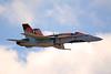 3190 CF-18 Hornet demo aircraft 75th Anniversary Battle of Britain paint scheme