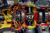263c Radial engine cutaway anaglyph