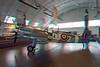 235 Supermarine Spitfire Mk VC with Mittelwerk V-2 Rocket in background Anaglyph