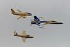 7549 2009 Canadian Centennial of Powered Flight CF-86 CF-18 and CT-114 Tutor