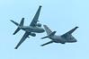 367 Lockheed S3 Vikings breaking formation