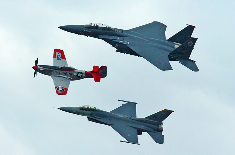 1204 Heritage Flight P1 F15E F16