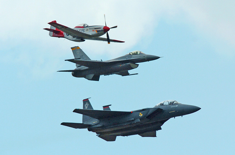 1221 Heritage Flight P1 F15E F16