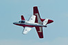 2065 Snowbirds soloists close pass