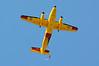 4109 de Havilland Canada CC-115 Buffalo and Skydiver