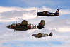 3543 Hetitage Fight B25 Spitfire Bearcat